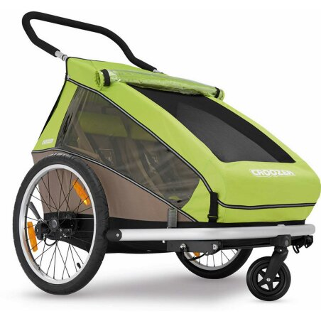 Croozer Kid for 2 Anhänger Meadow Green