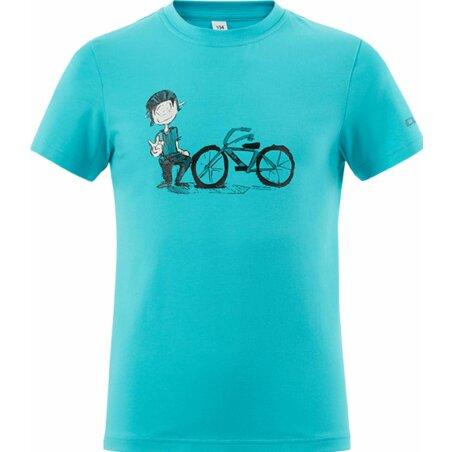 CUBE JUNIOR T-Shirt André melange blue