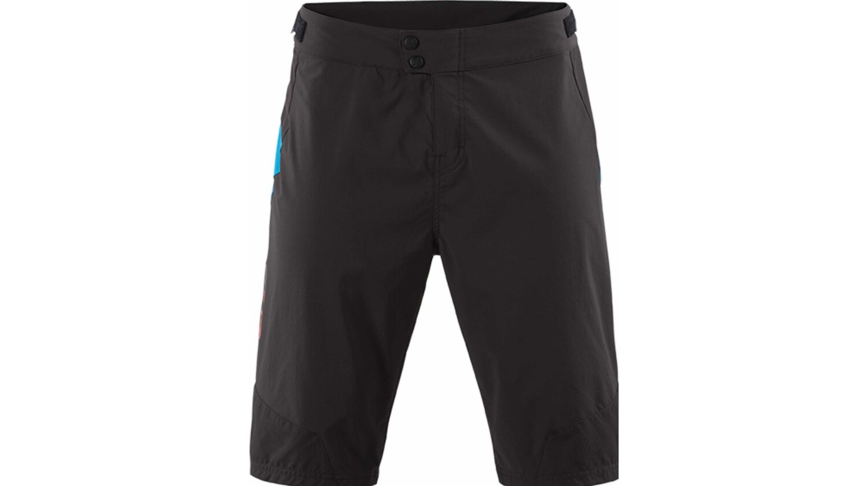 CUBE TEAMLINE Baggy Shorts black´n´blue´n´red