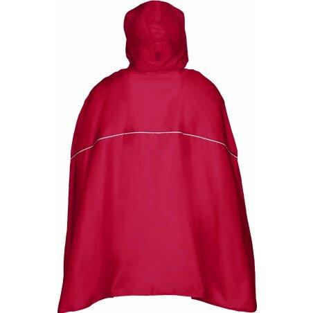 VAUDE Valdipino Regenponcho indian red XL