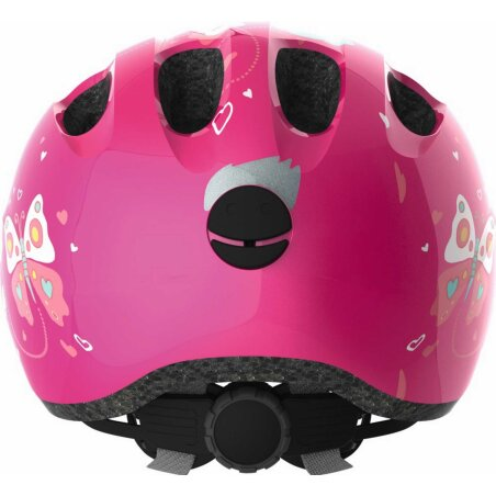 Abus Smiley 2.0 Helm pink butterfly