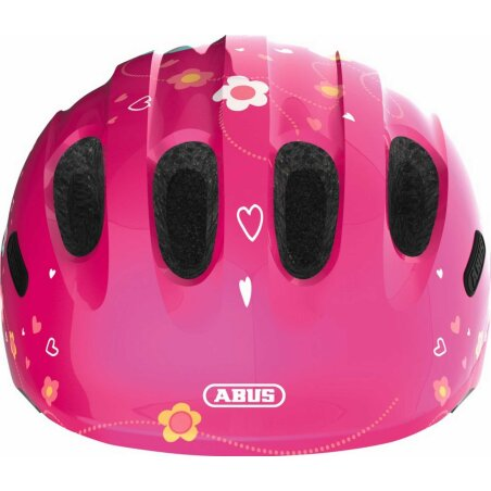 Abus Smiley 2.0 Helm pink butterfly M (50-55 cm)