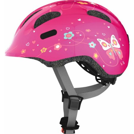 Abus Smiley 2.0 Helm pink butterfly S (45-50 cm)