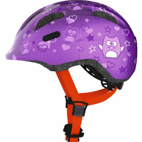 Abus Smiley 2.0 Helm purple star S (45-50 cm)