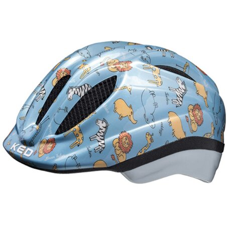 KED Meggy II Trend Blue Animals Helm
