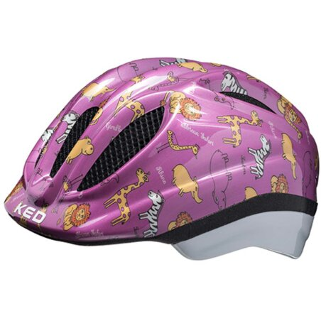 KED Meggy II Trend Pink Animals Helm