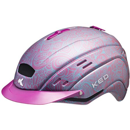 KED Cocon Coral Helm pink