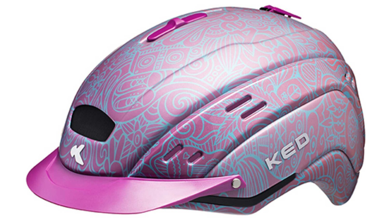 KED Cocon Coral Helm pink M/55-59 cm