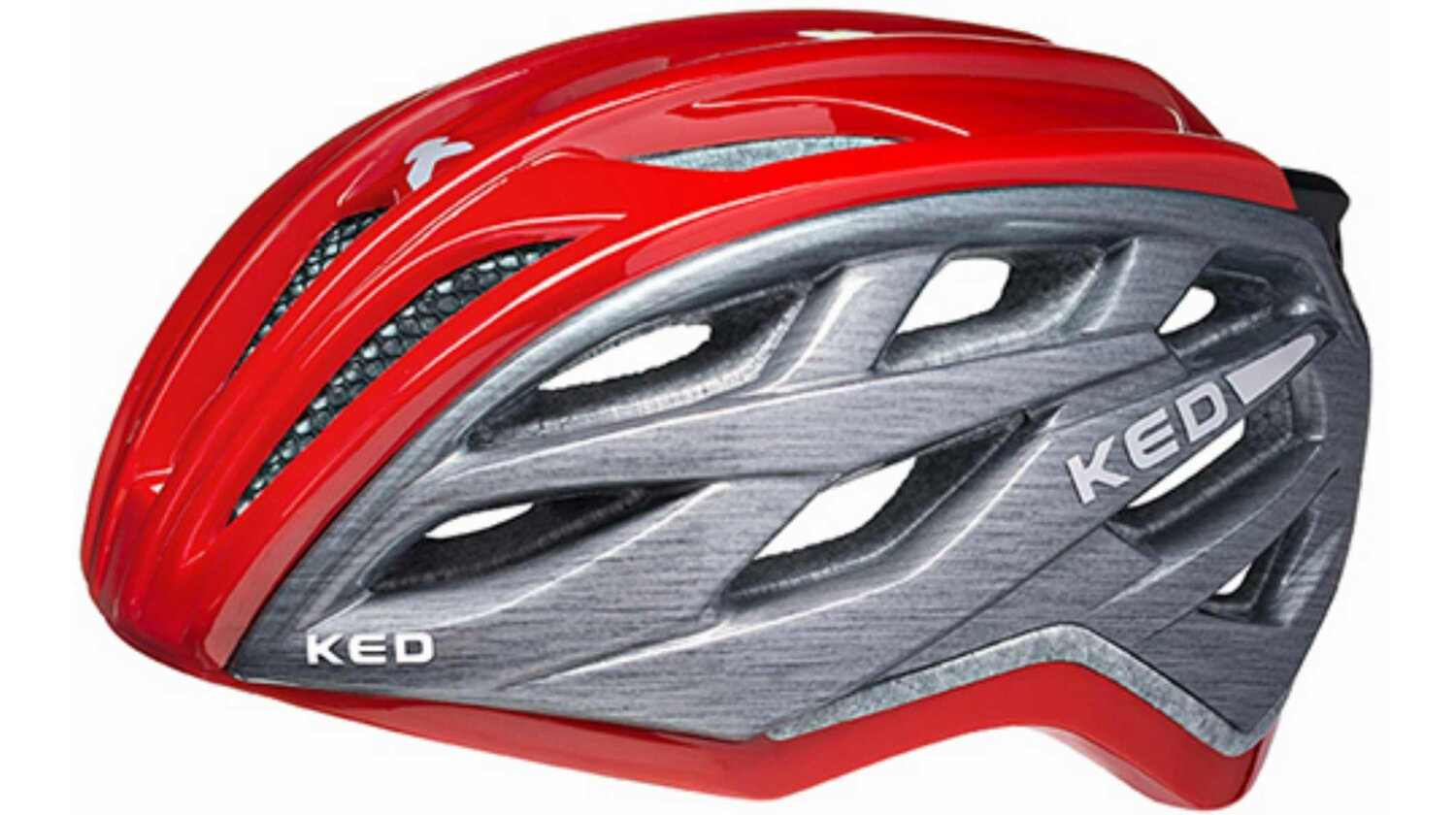 KED Xant Helm Red Grey