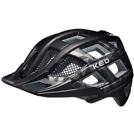 KED Crom Helm Black Anthracite XL/60-64 cm