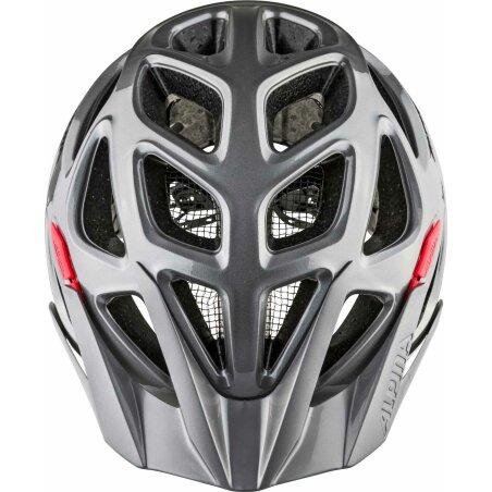 Alpina Mythos 3.0 Helm darksilver black red 52-57 cm