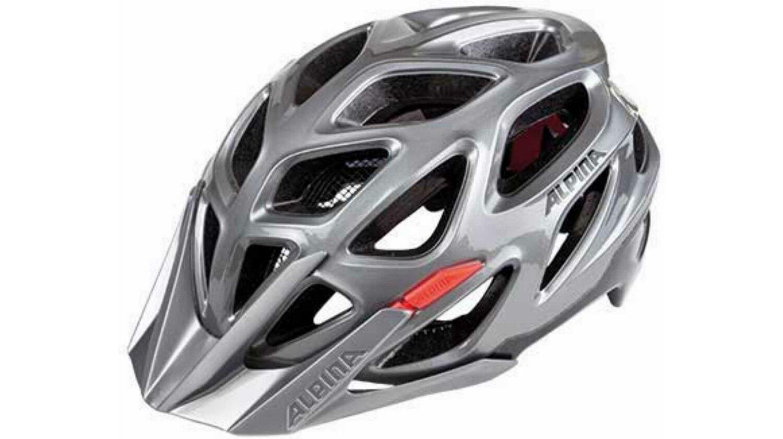 Alpina Mythos 3.0 Helm darksilver black red 57-62 cm