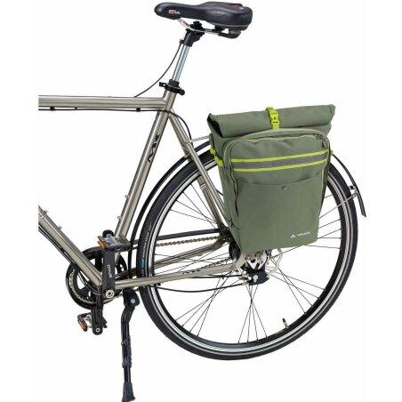 VAUDE ExCycling Back Single Gepäckträger Tasche cedar wood