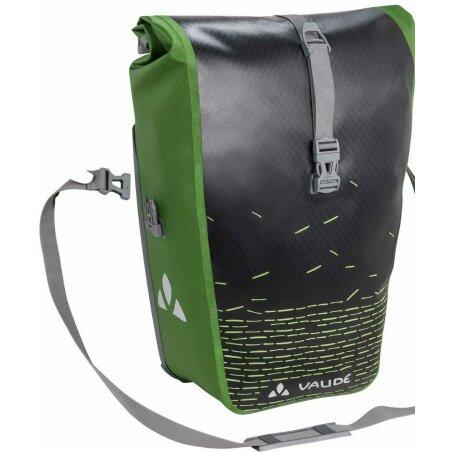 VAUDE Aqua Back Print Single Hinterradtasche black green