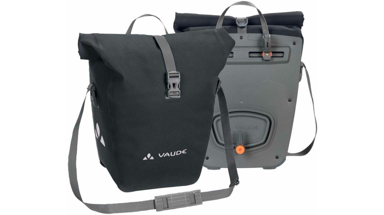 VAUDE Aqua Back Deluxe Paar Hinterradtasche phantom black