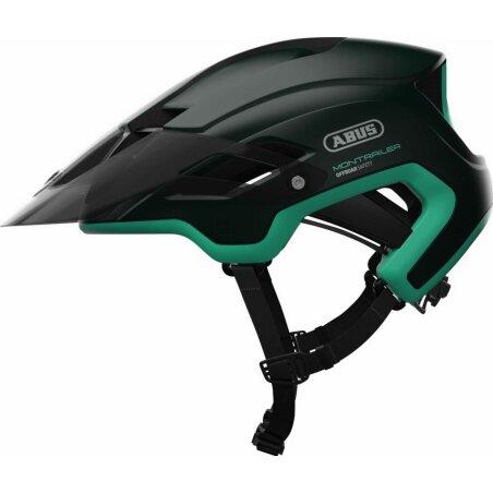 Abus Montrailer Helm smaragd green