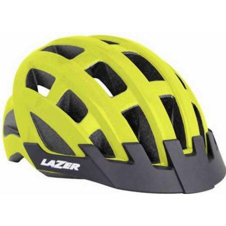 Lazer Compact Helm 54-61 cm  flash yellow