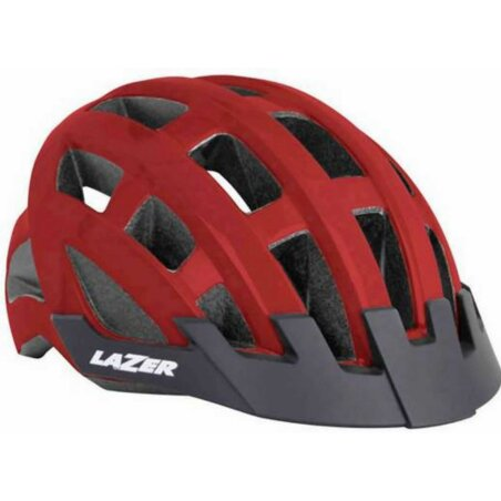Lazer Compact Helm 54-61 cm  red