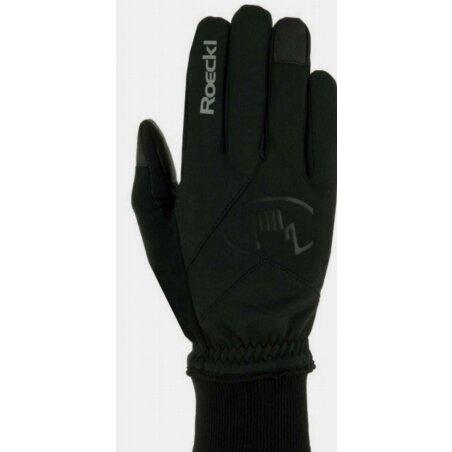 Roeckl Rieden Handschuhe lang schwarz