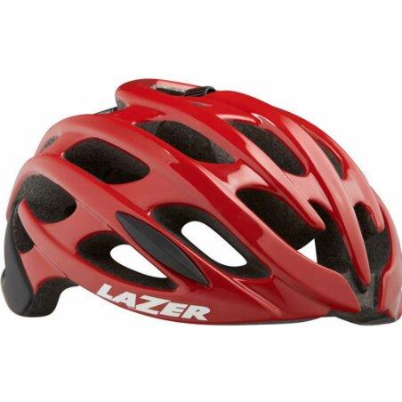 Lazer Blade+ Helm red black