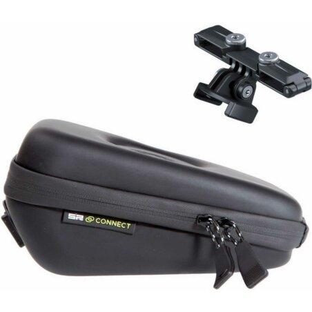 SP Connect Saddle Case Set Satteltasche mit Cateye Adapter