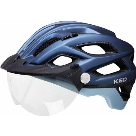 KED Covis Lite Helm nightblue lightblue matt
