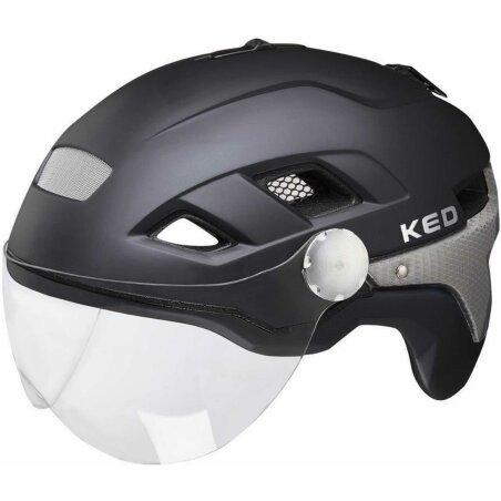 KED B-Vis X-Lite Helm Black Matt