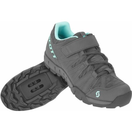 Scott Sport Trail Damen Schuhe dark grey/turquoise blue