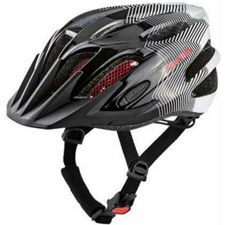 Alpina FB Junior 2.0 Kinder-Helm black-white-red 50-55 cm