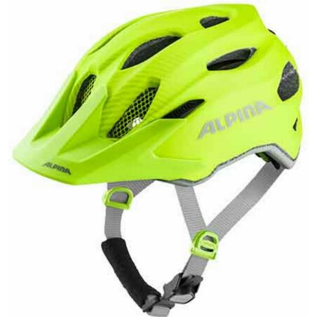 Alpina Carapax Junior Flash Kinder-Helm be visible 51-56 cm
