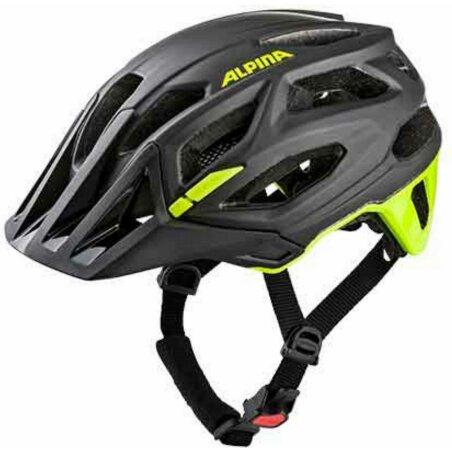 Alpina Garbanzo MTB-Helm black-neon-yellow