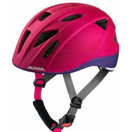 Alpina Ximo L.E. Kinder-Helm deeprose-violet