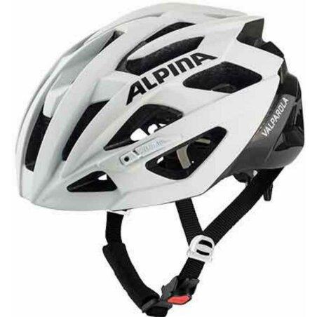 Alpina Valparola Helm white-black