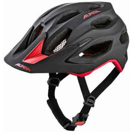 Alpina Carapax 2.0 Helm black-red