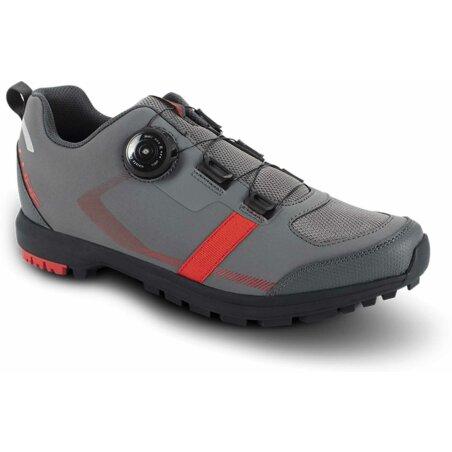 Cube ATX Lynx Pro Schuhe dark grey´n´red