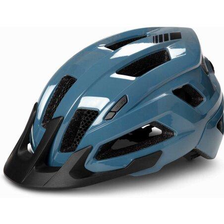 Cube Helm STEEP glossy blue