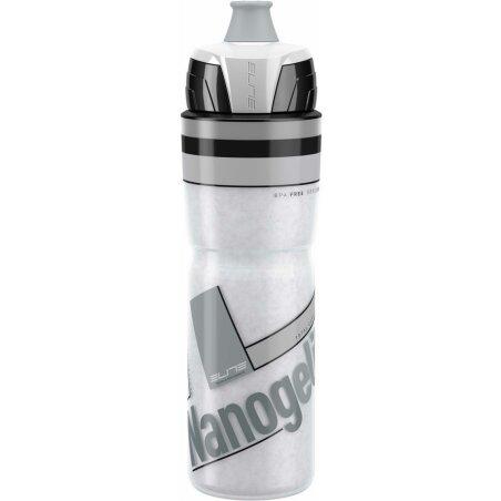 Elite Nanogelite Trinkflasche weiß grau 500 ml