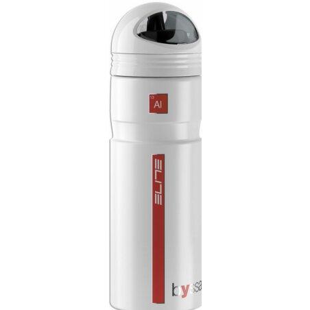 Elite Byssa Trinkflasche weiß matt 750 ml