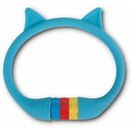 """RFR Kabelschloss HPS """"CAT"""" 10 x 350 mm blue"""