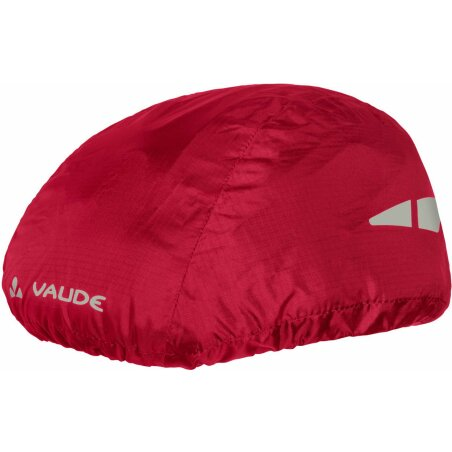 VAUDE Helmet Raincover indian red