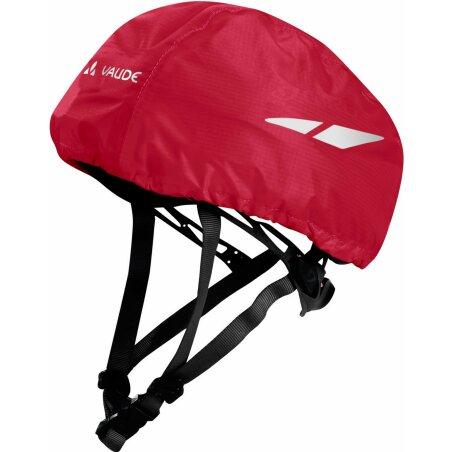 VAUDE Kids Helmet Raincover indian red