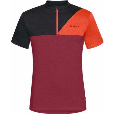 VAUDE Mens Tremalzo IV T-Shirt salsa