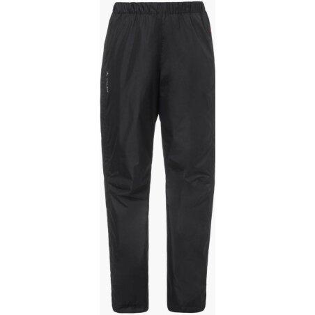 VAUDE Womens Fluid Full-Zip Pants Hose black