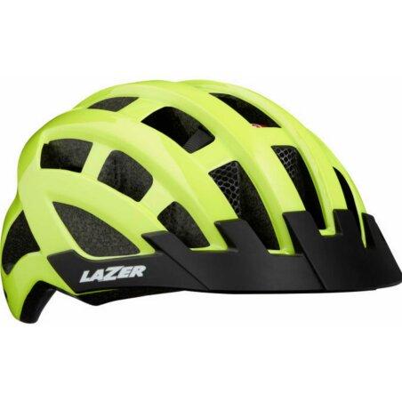 Lazer Compact DLX Helm flash yellow unisize/54-61 cm