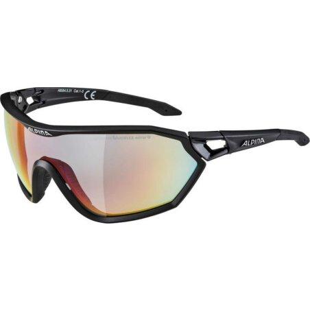 Alpina S-WAY Brille black matt QVMRB+