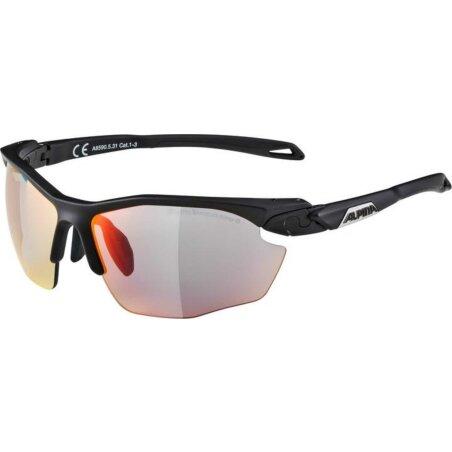 Alpina TWIST FIVE HR Brille black matt QVMRB+