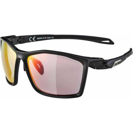 Alpina TWIST FIVE Brille black matt QVMRB+