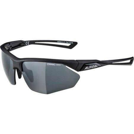 Alpina NYLOS HR Brille black matt CM