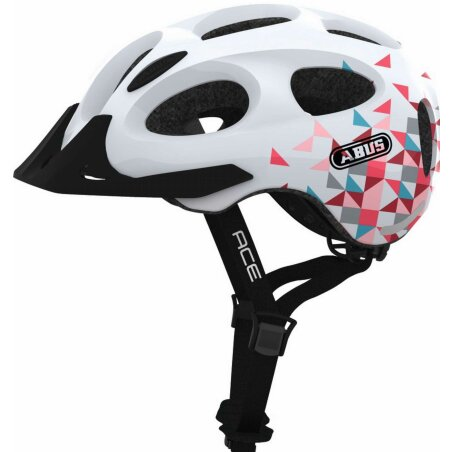 Abus Youn-I ACE Helm white prism M (52-57 cm)