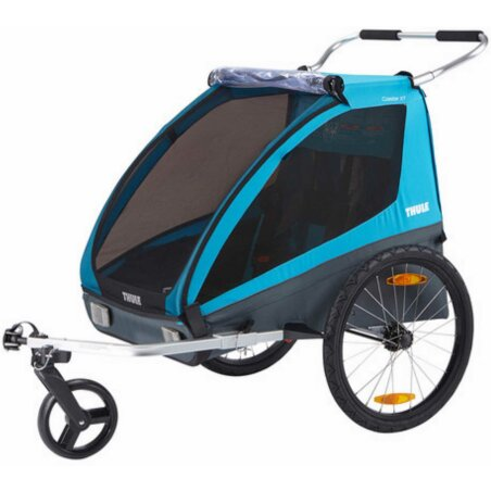 Thule Coaster XT Kinderanhänger + Fahrrad- und Buggy...